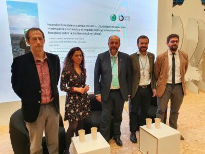 CLM, ejemplo nacional e internacional en materia de incendios forestales, traslada su modelo a la Cumbre del Clima