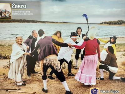 Presentado el calendario solidario de COCEMFE Talavera