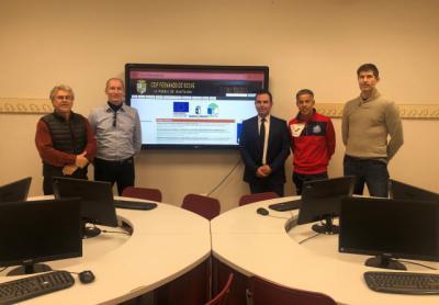 La Junta moderniza con equipamiento informático 277 centros educativos de la provincia de Toledo