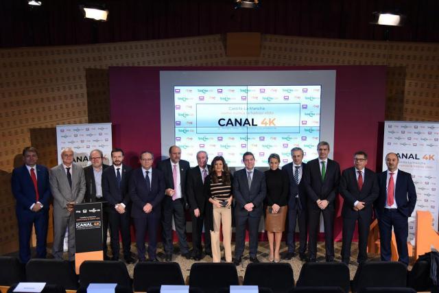 Comienzan las emisiones en 4K en Castilla-La Mancha