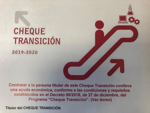 """99 """"cheques transición"""" aprobados en la provincia de Toledo"""