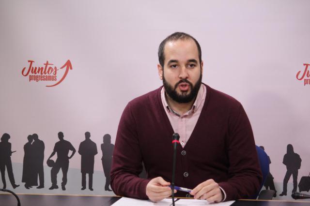 El diputado del Grupo Parlamentario Socialista en las Cortes Miguel González