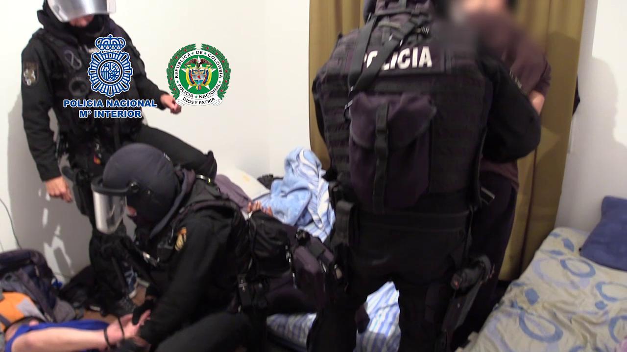 Desmantelan en la provincia de Toledo un laboratorio con capacidad para elaborar toneladas de droga