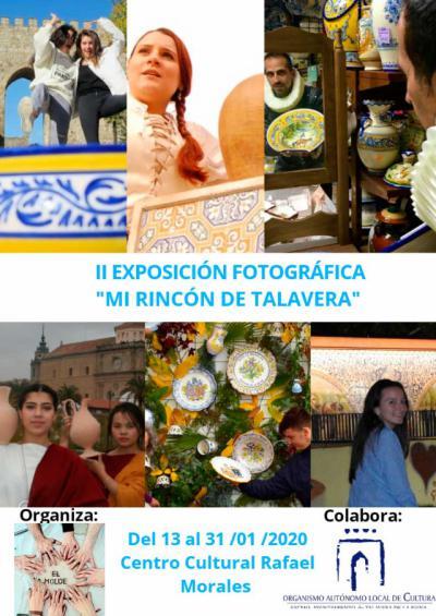 El centro cultural 'Rafael Morales' albergará la exposición 'Mi rincón de Talavera'