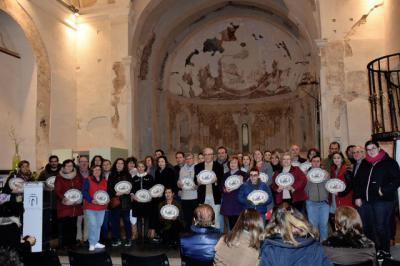 Entrega de premios del Certamen de Belenes de Talavera