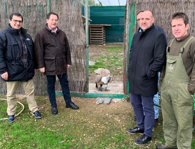 El CERI de Sevilleja de la Jara, referente nacional en la recuperación de fauna silvestre