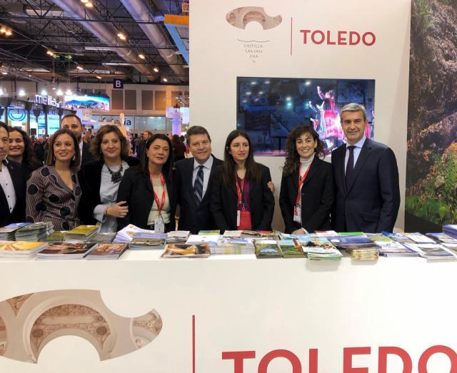 La Diputación facilita la presencia de los municipios toledanos en FITUR