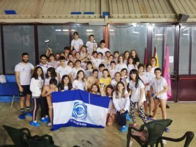El Club Natación Ciudad de Talavera se da un baño de medallas en el provincial