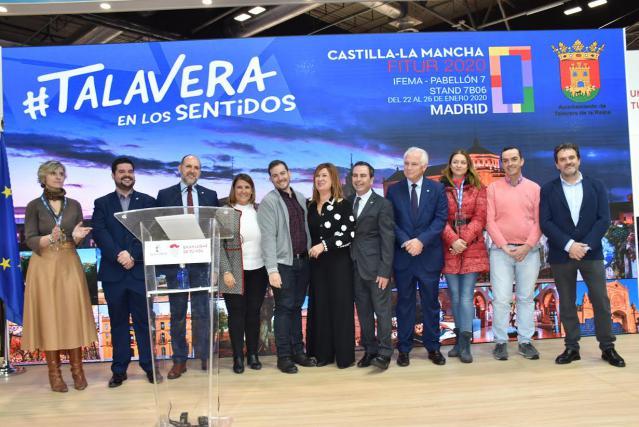 "Tita García en FITUR: ""Si vienen a Talavera, volverán"""