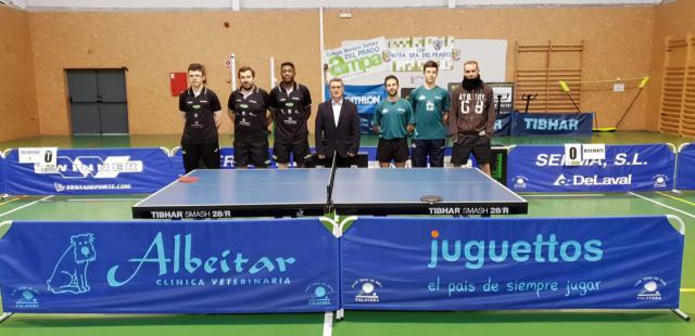 El tenis de mesa talaverano se asegura la permanencia en Primera División Nacional