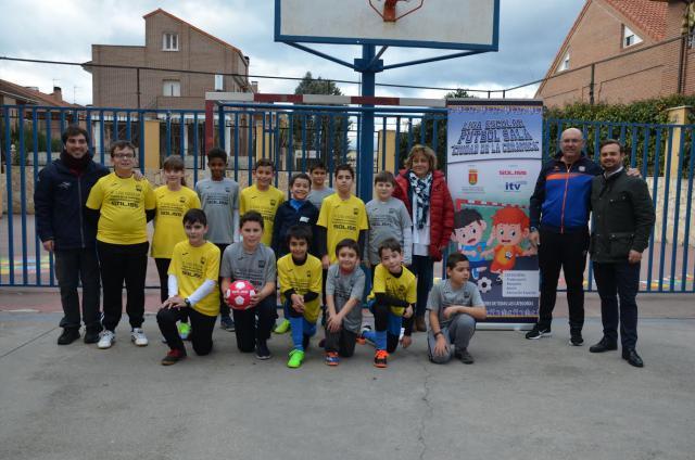 Comienza la VI Liga Escolar de Fútbol Sala Ciudad de la Cerámica