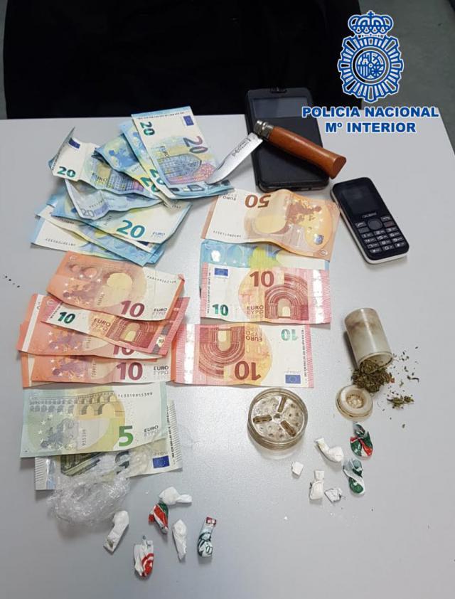 Detenidos dos traficantes en Talavera cuando estaban distribuyendo cocaína