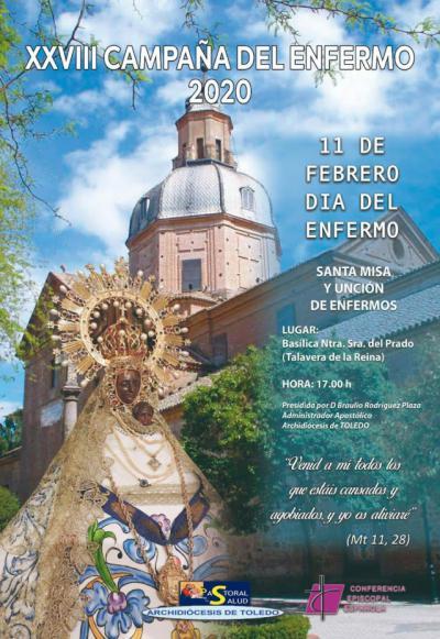 La basílica de Nuestra Señora de Prado acoge la Jornada Mundial del Enfermo