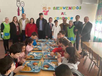 Concedidas 38.052 ayudas de comedor y para libros de texto en la provincia de Toledo