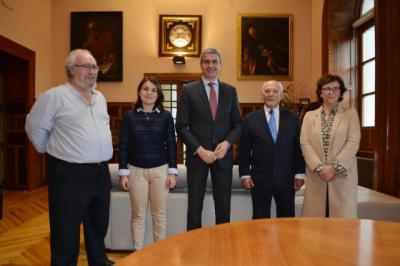La Diputación muestra su respaldo a la Asociación de Familiares de Párkinson de Talavera