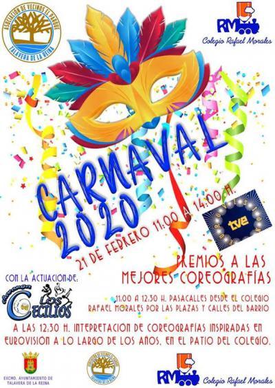 El Colegio Rafael Morales y la Asociación de Vecinos El Parque se visten de Carnaval