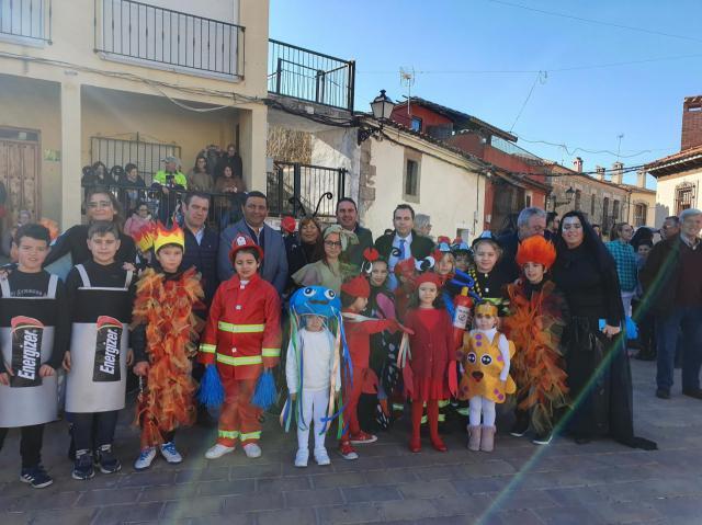El CRA 'Ribera del Guadyerbas' celebra el Carnaval