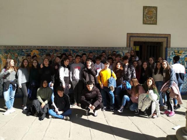 El colegio Rafael Morales organiza una 'gymkhana cultural' para aprender sobre Talavera