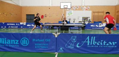 Gran victoria de los talaveranos en tenis de mesa