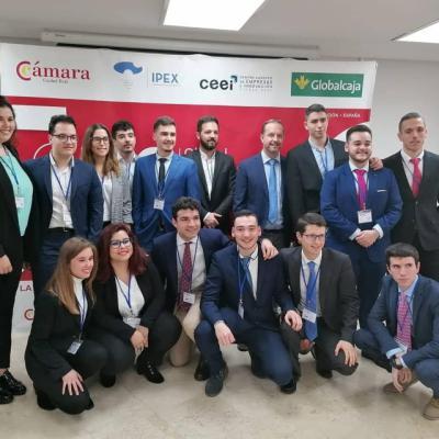 Éxito de la Facultad de Ciencias Sociales de Talavera en la final regional del 'Global Management Callenge'