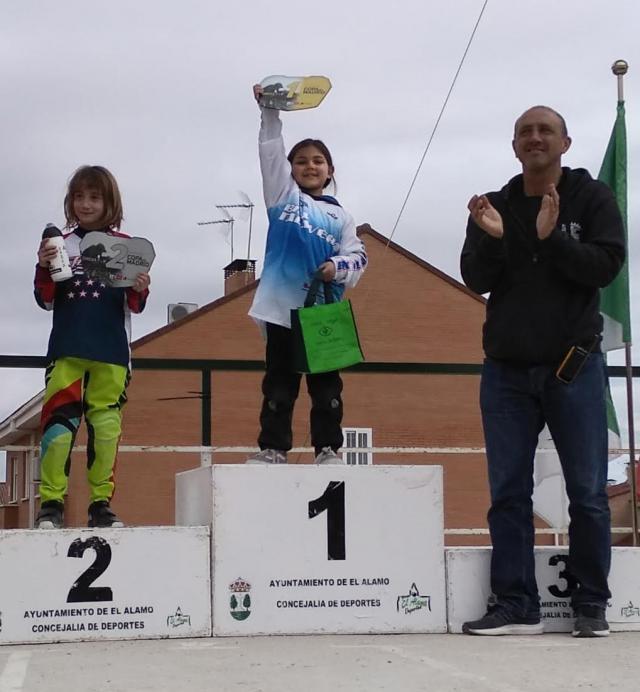 Dos oros para el BMX Talavera en la segunda prueba de la Copa de Madrid