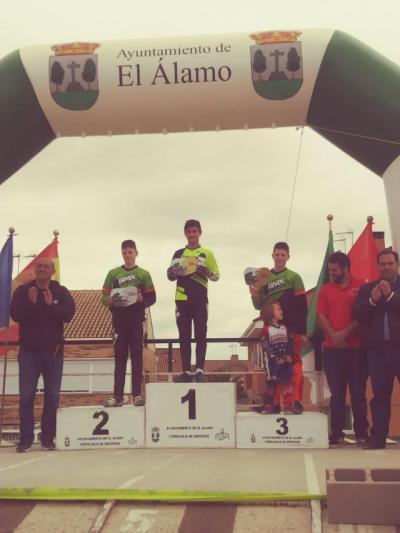 Ángel Heras sigue líder de la general en la Copa de Madrid de BMX
