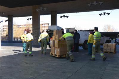 CORONAVIRUS | Nuevo envío con más de 686.000 de artículos de protección
