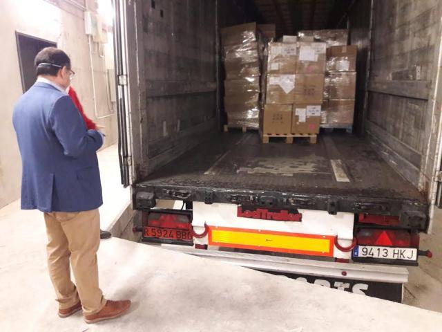 ACTUALIDAD | Sigue llegando material sanitario para Casilla-La Mancha