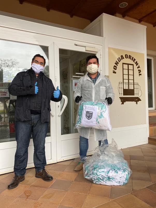 COVID-19 | La Federación de Caza CLM dona material de protección a residencias de mayores