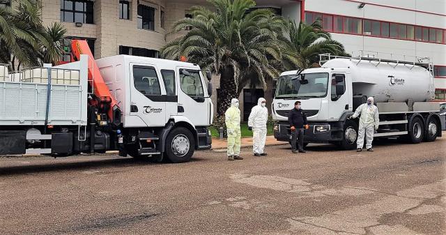 COVID-19 | Talauto cede dos vehículos a Diputación para desinfección