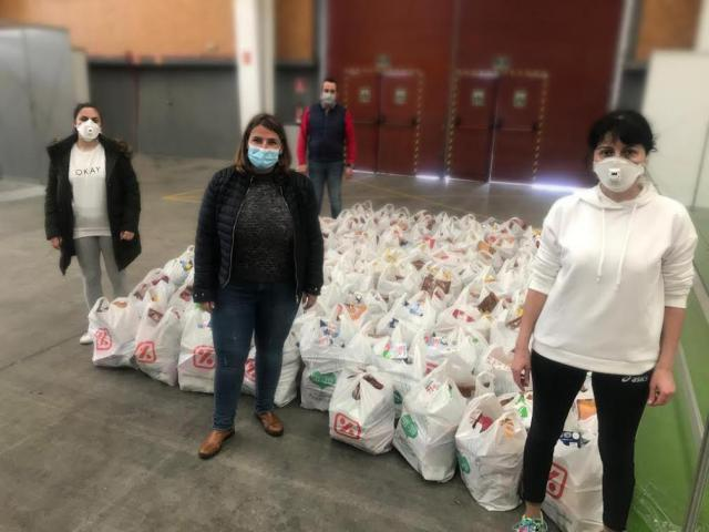 TALAVERA | El Ayuntamiento comienza el reparto de alimentos