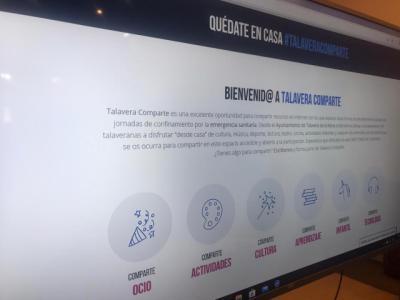 ACTUALIDAD | 'Talavera Comparte', la plataforma para hacer hacer más llevadero el confinamiento