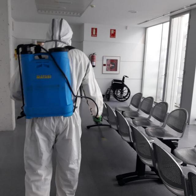 TALAVERA | Segunda fase de desinfección integral en centros de salud y residencias de mayores