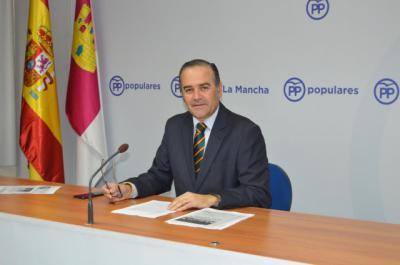 El PP denuncia la 'nefasta' gestión de García-Page en sanidad