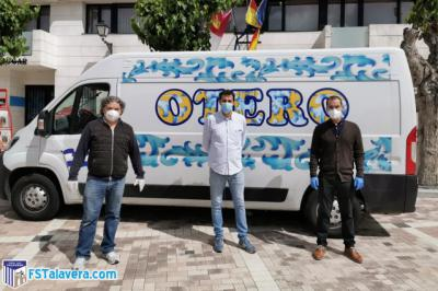SOLIDARIDAD | Soliss FS Talavera y Cárnicas Otero reparten comida a hogares necesitados
