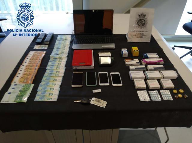 OPERACIÓN MONGOLIA | Dos detenidos en Talavera por distribuir cocaína en locales nocturnos
