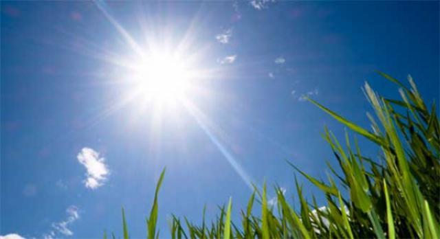 Tiempo soleado y temperaturas veraniegas para este fin de semana