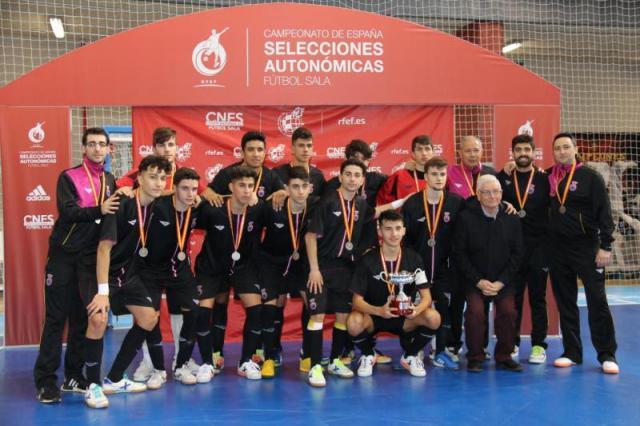 Castilla La Mancha Sub-19 de Fútbol Sala queda Subcampeona de España