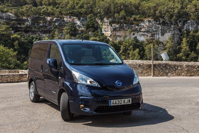 La furgoneta eléctrica Nissan e-NV200 bate su récord de matriculaciones