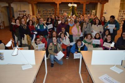 Entrega de diplomas 'Feliz Diversidad' en la Biblioteca Niveiro-Alfar El Carmen