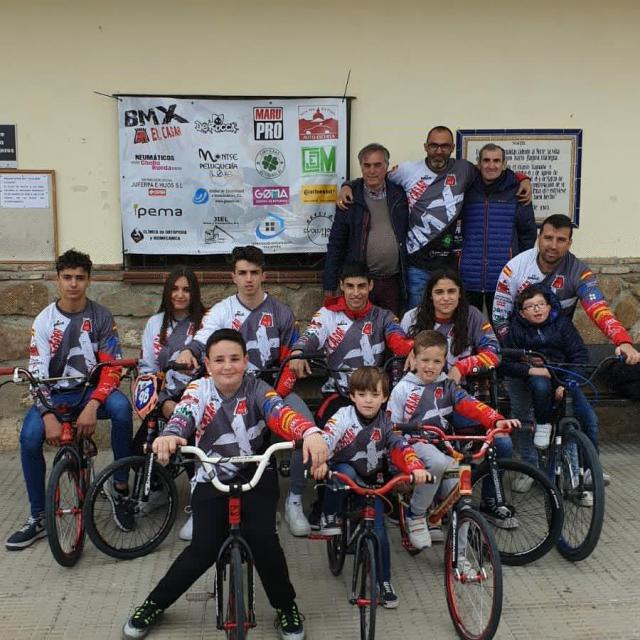El equipo BMX El Casar ya es una realidad