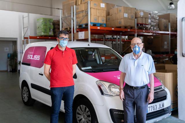 SOLIDARIDAD | Soliss entrega 5 toneladas de comida a los Bancos de Alimentos de la región