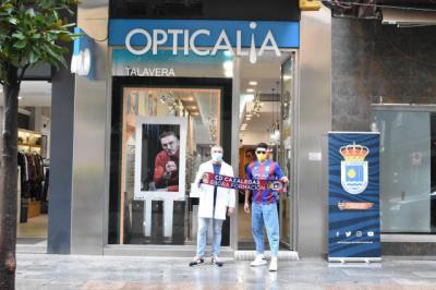 Opticalia en Talavera y el CD Cazalegas-Ebora Formación sellan un acuerdo de patrocinio