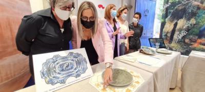 La fusión del bordado y la cerámica, una combinación artesanal perfecta
