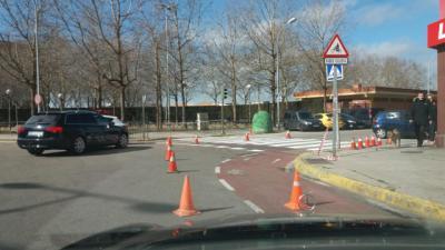 Comienzan los trabajos en medio centenar de pasos de peatones y señales horizontales en Talavera