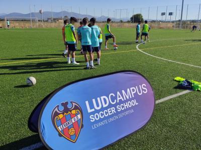 Arranca el I Summer Campus Levante UD en Ebora Formación