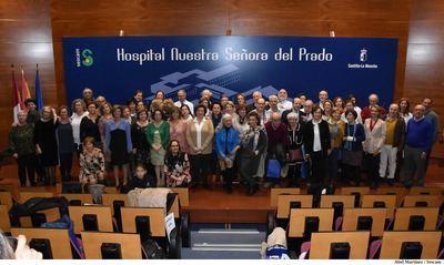 Homenaje a los trabajadores jubilados durante 2018 en el Área Integrada de Talavera