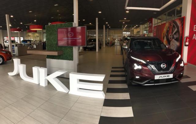 El nuevo Nissan Juke se presenta en sociedad en Talauto Cars