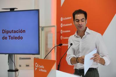 TOLEDO | Cs acusa a la Diputación de