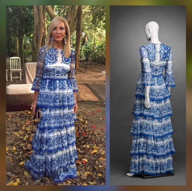 TALAVERA | El vestido de Carmen Lomana que no es lo que parece